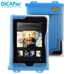 DiCapac 100% wasserdichte Universal Tablet Hülle bis zu 8 Zoll in Blau