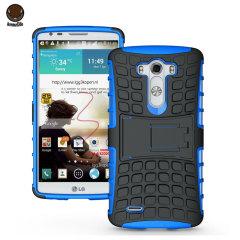 Coque LG G3 Armourdillo Hybrid – Bleue