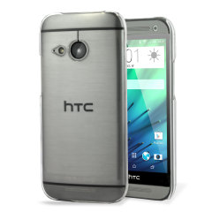 Carcasa delgada y transparente que proporciona una protección duradera para su HTC One Mini 2, manteniendo su perfil delgado.