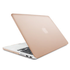 "The Olixar ToughGuard Hard Case in rose gold gives your MacBook Pro Retina 13 inch the protection it needs without adding any unnecessary bulk. Compatible with the MacBook Pro 13"" with Retina Display A1502/A1425, versions 2012 to 2015."