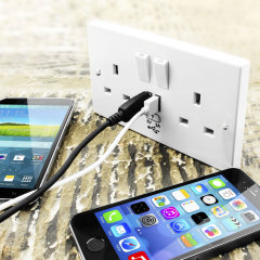 Introducing the revolutionary solution for USB charging, the Power Socket with USB Charging Wall Plate. This intuitively designed product allows you to charge your mobile devices while keeping your precious plug sockets free for other devices.
