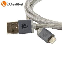 Cable de Carga y Sincronización Quickdraw Lightning - 1 metro - Negro