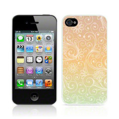 Call Candy Back Case iPhone 4S/ 4 Hülle Paisley Sunshine