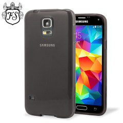 Custodia FlexiShield per Samsung Galaxy S5 Mini - Fumo