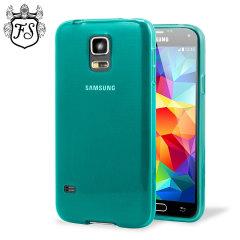 FlexiShield Case Galaxy S5 Mini Hülle Blau