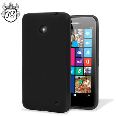 FlexiShield Case Lumia 635 / 630 Hülle in Schwarz