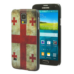Custodia Flag Design per Samsung Galaxy S5 - Gerorgia
