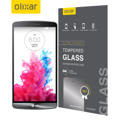 Olixar Tempered Glas LG G3 Displayschutz