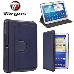 Targus Galaxy Tab 4 10.1 Rotating Leather-Style Case - Blue