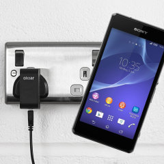 Charge your Sony Xperia Z1 Compact quickly and conveniently with this compatible 2.5A high power charging kit. Featuring mains adapter and USB cable.