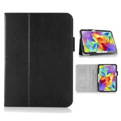 Custodia in ecopelle Encase per Samsung Galaxy Tab S 10.5 - Nero