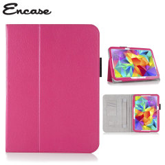 Encase Leather-Style Samsung Galaxy Tab S 10.5 Stand Case - Pink