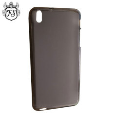 Custodia FlexiShield per HTC Desire 816 - Nero Fumé