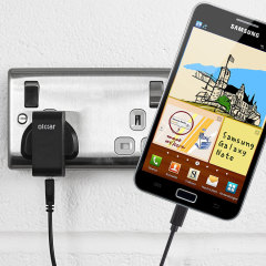 High Power Samsung Galaxy Note Wall Charger & 1m Cable