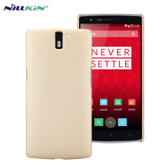 Custodia Super Frosted Nillkin per OnePlus One - Gold