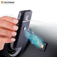 Tetrax Fix Universal In-Car Phone Holder - Zwart