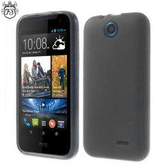 FlexiShield HTC Desire 310 Case - Smoke Black