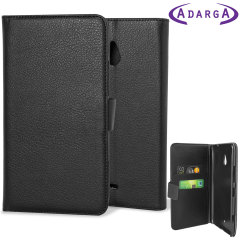 Adarga Multifunctional Nokia 1320 Wallet Stand Case - Black