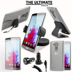 Das Ultimate Pack LG G3 Zubehör Set