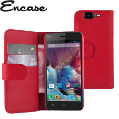 Encase Wiko Highway Wallet Case - Red