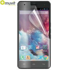 Muvit Twin Pack Matte & Glossy Screen Protector for Wiko Highway