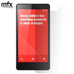 MFX Screenprotector voor  Xiaomi RedMi Note