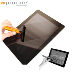 Meet the perfect all-in-one smartphone and tablet stylus and cleaning kit accessory. The Procare Wet/Dry Screen Cleaning Kit and Stylus effectively removes dirt while while providing a barrier against stains and fingerprints.