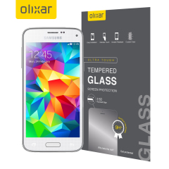 This ultra-thin tempered glass screen protector from Olixar for the Samsung Galaxy S5 Mini offers toughness, high visibility and sensitivity all in one package.