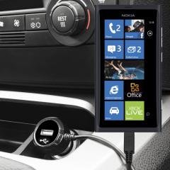 Caricabatterie da auto High Power Olixar per Nokia Lumia 800