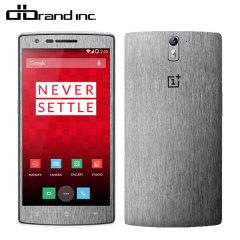 dbrand Textured Cover OnePlus One Skin Titanium