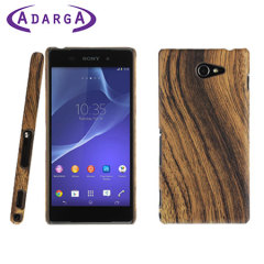 Adarga Wood Patterned Back Sony Xperia M2 Case