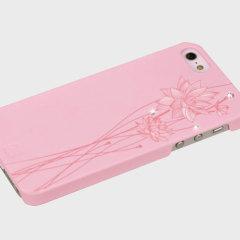 Custodia Bling My Thing Ayano Kimura Lotus per iPhone 5 / 5S - Rosa