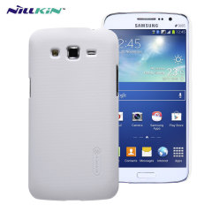 Specifically made for the Samsung Galaxy Grand 2, this protective white hard shell case will shield your phone from everyday knocks and drops.