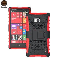 ArmourDillo Hybrid Nokia Lumia 930 Protective Case - Red