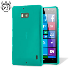 FlexiShield Lumia 930 Hülle Gel Case in Grün-Blau