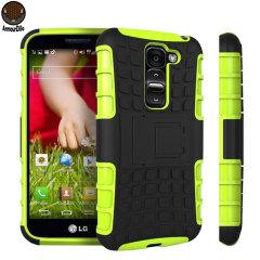 ArmourDillo Hybrid LG G2 Mini Protective Case - Green
