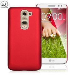 ToughGuard LG G2 Mini Rubberised Case - Red