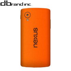 dbrand Textured Cover Nexus 5 Skin Orange