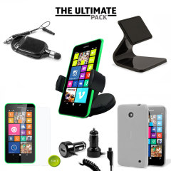 The ultimate Nokia Lumia 630 / 635 accessory pack contains must have items for your phone. Designed to protect and store your Nokia Lumia 630 / 635 at home, in the office and in the car.