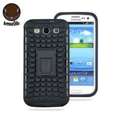 Custodia Hybrid Protective ArmourDillo per Samsung Galaxy S3 - Nero
