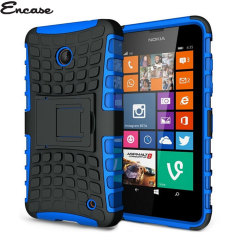 Encase ArmourDillo Lumia 630/ 635 Hülle in Blau