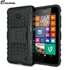 Encase ArmourDillo Lumia 630 Hülle in Schwarz