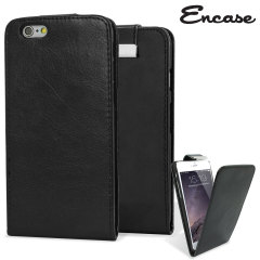 Encase iPhone 6 Plus Tasche Wallet Flip in Schwarz