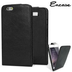Custodia a portafogli Encase per iPhone 6 Plus - Nero
