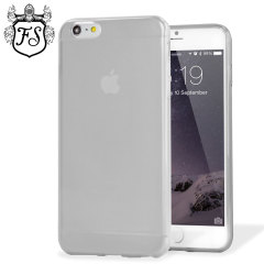 Encase FlexiShield iPhone 6 Plus Hülle Gel Case in Frost White