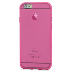 Custom moulded for the iPhone 6 Plus. This pink FlexiShield case provides a slim fitting stylish design and durable protection against damage, keeping your iPhone looking great at all times.