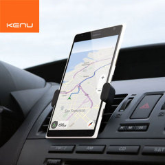 The world's most portable car mount for large smartphones, attaching to any air vent and weighing only 27g makes The Kenu Airframe+ in black perfect for everyday use.