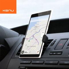 Le Kenu Airframe+ pour smartphones est le plus petit support au monde. Grâce à son poids de 27g, il est facilement transportable.