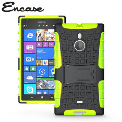Protect your Lumia 1520 from bumps and scrapes with this Encase green ArmourDillo case. Comprised of an inner TPU case and an outer impact-resistant exoskeleton, with a built-in viewing stand.