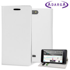 The Adarga Stand and Type Wallet Case in white clips to the back of your EE Kestral to provide enclosed protection and can also be used as a media viewing stand.